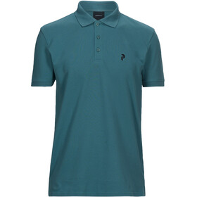 Peak Performance M's Classic Pique Shirt Aquaterm
